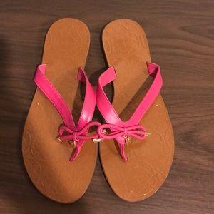 Kate Spade pink sandals!